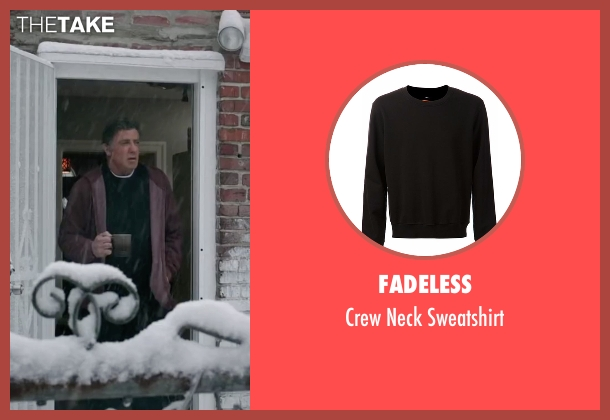 Fadeless black sweatshirt from Creed seen with Sylvester Stallone (Rocky Balboa)