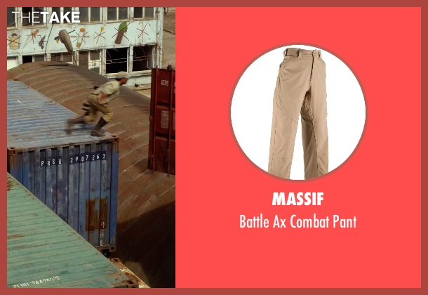 Massif beige pant from The Expendables 3 seen with Sylvester Stallone (Barney Ross)