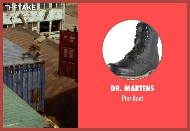 Dr. Martens black boot from The Expendables 3 seen with Sylvester Stallone (Barney Ross)
