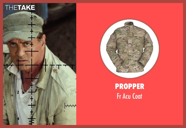 Propper coat from The Expendables 3 seen with Sylvester Stallone (Barney Ross)