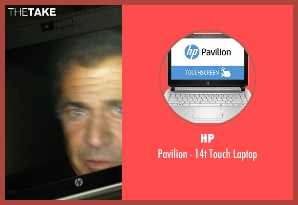 HP laptop from The Expendables 3 seen with Sylvester Stallone (Barney Ross)