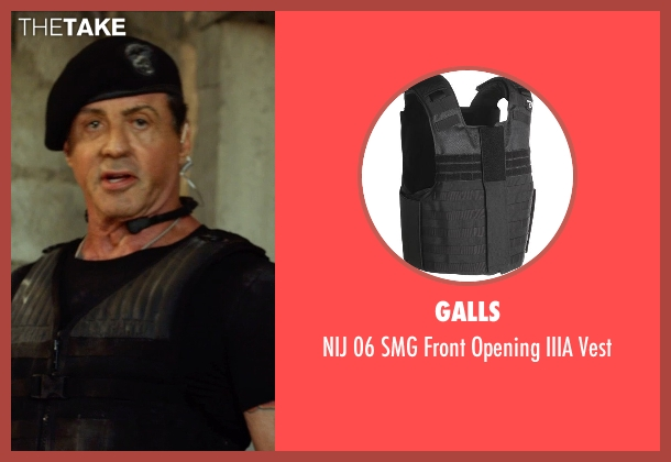 Galls vest from The Expendables 3 seen with Sylvester Stallone (Barney Ross)