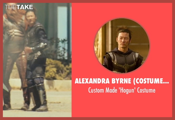 Alexandra Byrne (Costume Designer) costume from Thor seen with Tadanobu Asano (Hogun)
