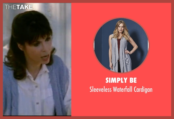 Simply Be blue cardigan from Rocky IV seen with Talia Shire (Adrian)