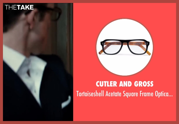 Cutler And Gross glasses from Kingsman: The Secret Service seen with Taron Egerton (Gary 'Eggsy' Unwin)