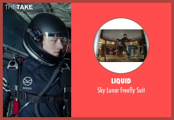 Liquid suit from Kingsman: The Secret Service seen with Taron Egerton (Gary 'Eggsy' Unwin)
