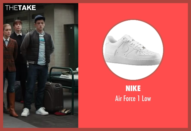 Nike white low from Kingsman: The Secret Service seen with Taron Egerton (Gary 'Eggsy' Unwin)