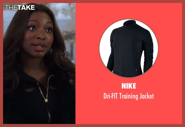 Nike  black jacket from Power seen with Tasha St. Patrick (Naturi Naughton)