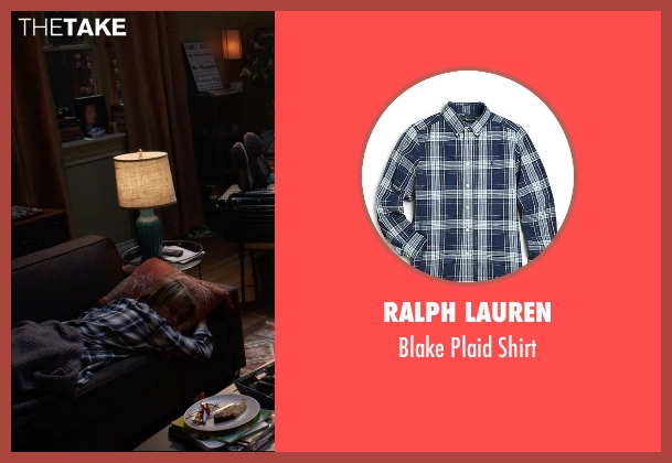 Ralph Lauren blue shirt from Insidious: Chapter 3 seen with Tate Berney (Alex Brenner)