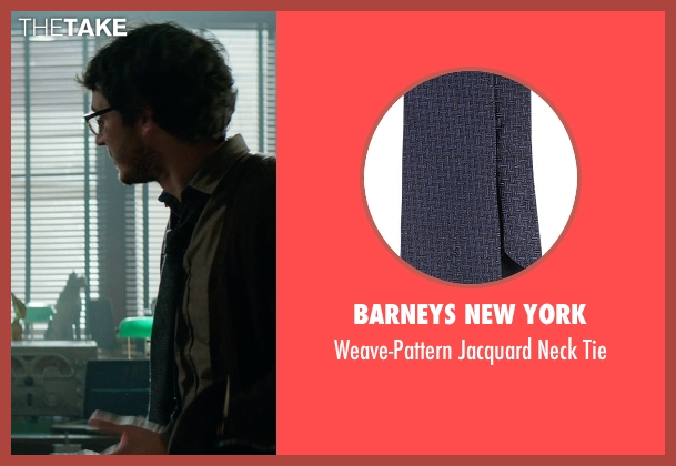 Barneys New York blue tie from Sinister 2 seen with Tate Ellington (Dr. Stomberg)