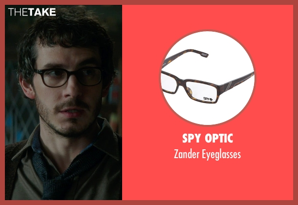 Spy Optic brown eyeglasses from Sinister 2 seen with Tate Ellington (Dr. Stomberg)