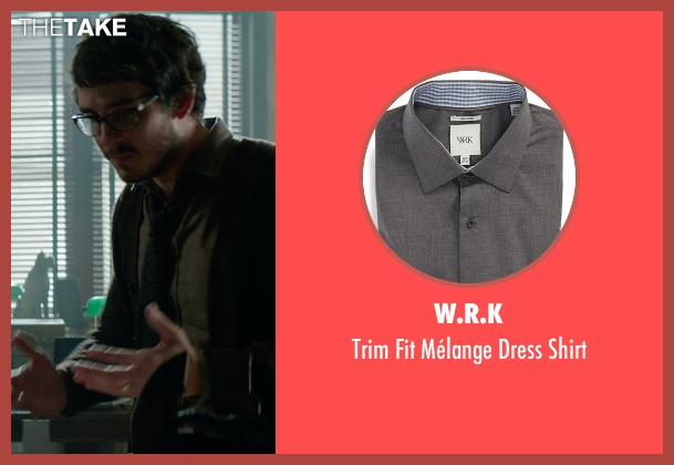 W.R.K gray shirt from Sinister 2 seen with Tate Ellington (Dr. Stomberg)
