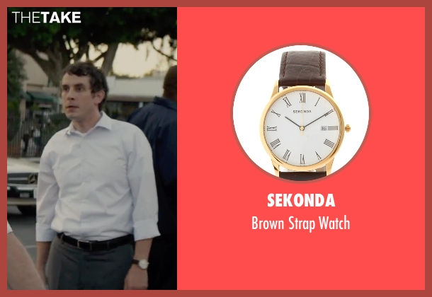 Sekonda gold watch from Straight Outta Compton seen with Tate Ellington (Bryan Turner)