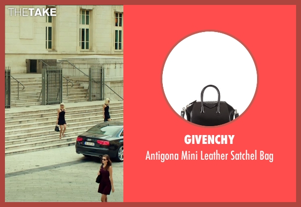 Givenchy black bag from The Transporter: Refueled seen with Tatiana Pajkovic (Maria)