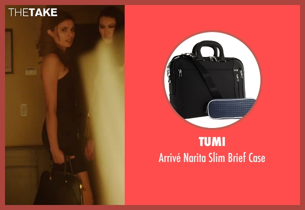 Tumi black case from The Transporter: Refueled seen with Tatiana Pajkovic (Maria)