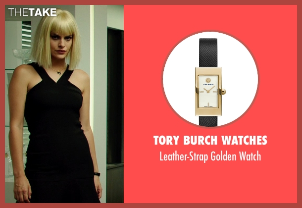 Tory Burch Watches black watch from The Transporter: Refueled seen with Tatiana Pajkovic (Maria)