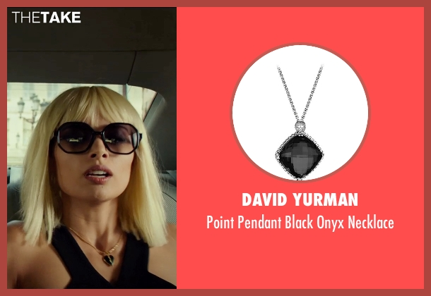 David Yurman silver necklace from The Transporter: Refueled seen with Tatiana Pajkovic (Maria)