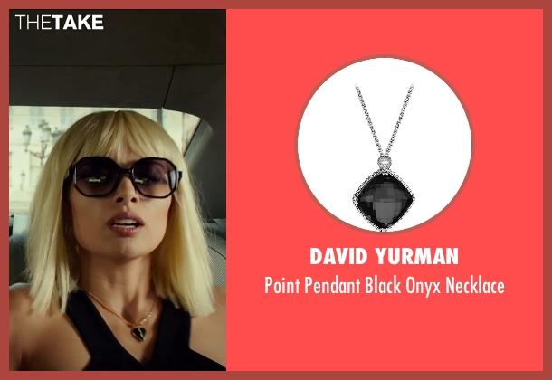 David Yurman silver necklace from The Transporter: Refueled seen with Tatiana Pajkovic (Maria)