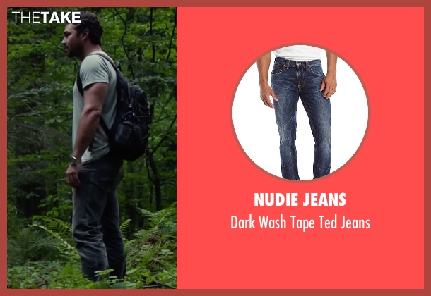 Nudie Jeans blue jeans from The Forest seen with Taylor Kinney (Aiden)