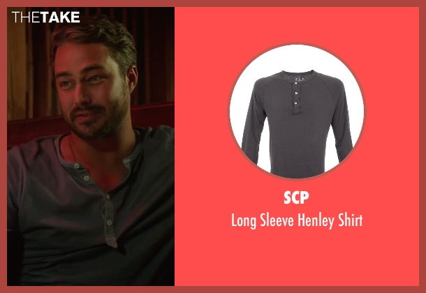 SCP gray shirt from The Forest seen with Taylor Kinney (Aiden)
