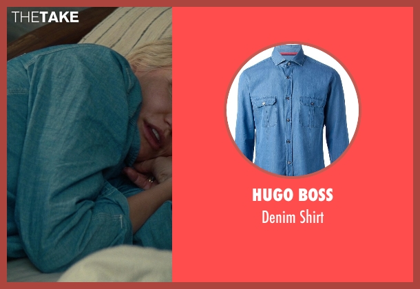 Hugo Boss blue shirt from The Other Woman seen with Taylor Kinney (Phil)