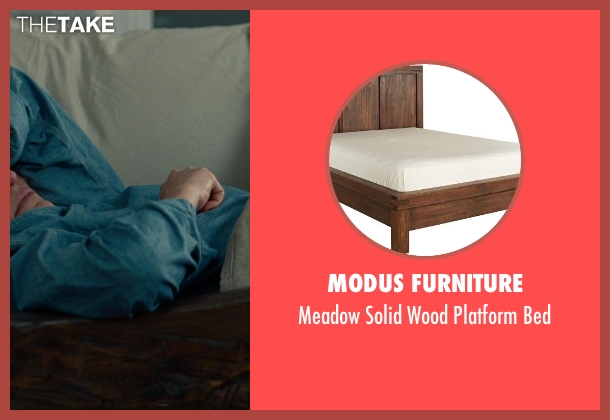 Modus Furniture brown bed from The Other Woman seen with Taylor Kinney (Phil)