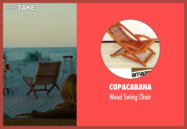 Copacabana chair from The Other Woman seen with Taylor Kinney (Phil)