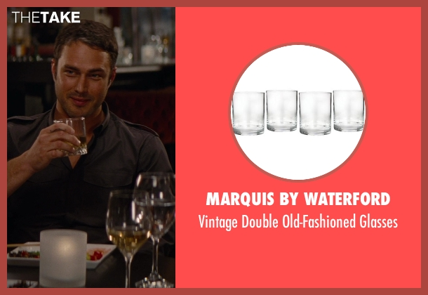 Marquis by Waterford glasses from The Other Woman seen with Taylor Kinney (Phil)