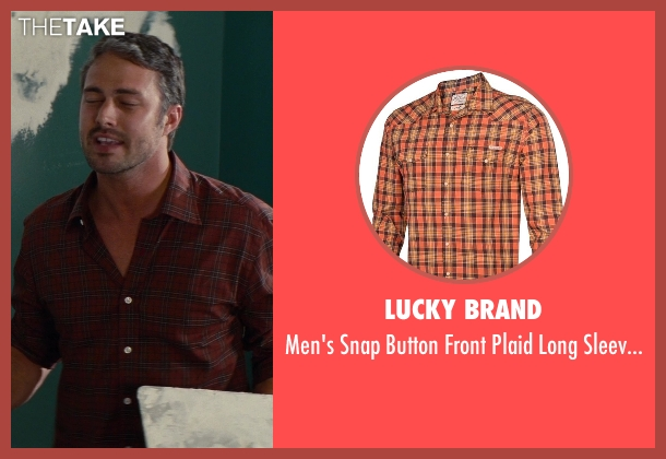 Lucky Brand orange shirt-orange from The Other Woman seen with Taylor Kinney (Phil)