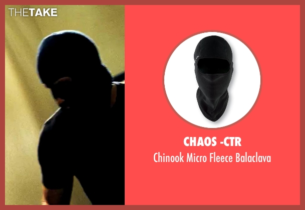 Chaos -CTR black balaclava from Savages seen with Taylor Kitsch (Chon)