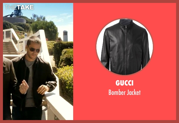 Gucci black jacket from Savages seen with Taylor Kitsch (Chon)