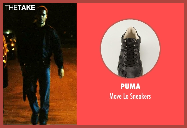 Puma black sneakers from Savages seen with Taylor Kitsch (Chon)