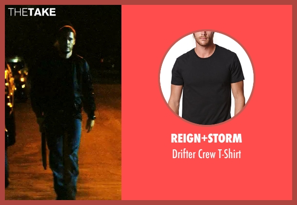 Reign+Storm black t-shirt from Savages seen with Taylor Kitsch (Chon)