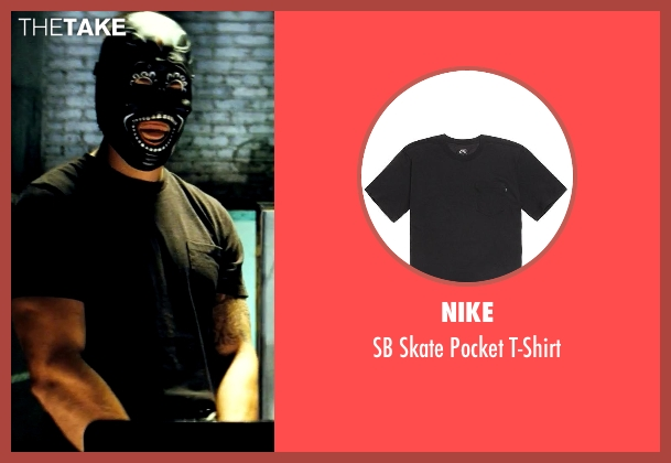 Nike black t-shirt from Savages seen with Taylor Kitsch (Chon)