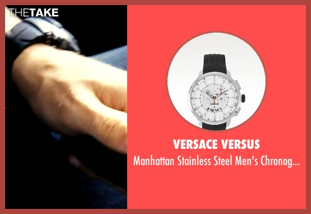 Versace Versus black watch from Savages seen with Taylor Kitsch (Chon)