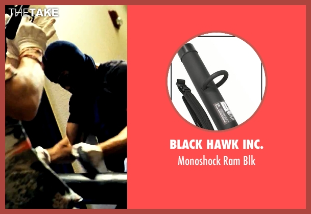 Black Hawk Inc. blk from Savages seen with Taylor Kitsch (Chon)
