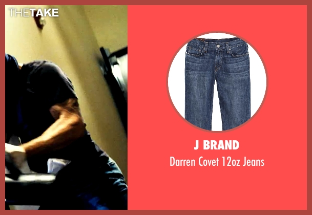 J Brand blue jeans from Savages seen with Taylor Kitsch (Chon)