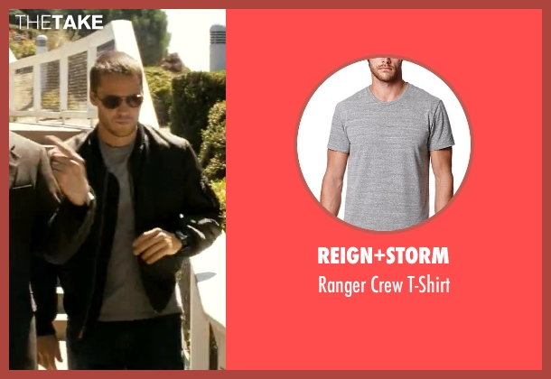 Reign+Storm gray t-shirt from Savages seen with Taylor Kitsch (Chon)