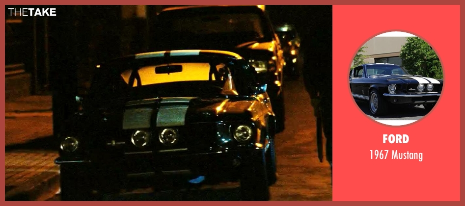 Ford mustang from Savages seen with Taylor Kitsch (Chon)