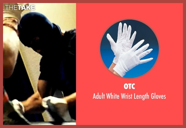 OTC white gloves from Savages seen with Taylor Kitsch (Chon)