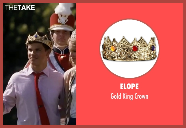 Elope crown from Valentine's Day seen with Taylor Lautner (Willy)