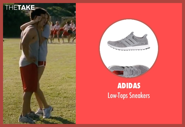 Adidas gray sneakers from Valentine's Day seen with Taylor Lautner (Willy)