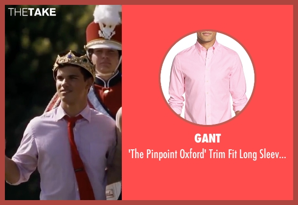 Gant pink shirt from Valentine's Day seen with Taylor Lautner (Willy)