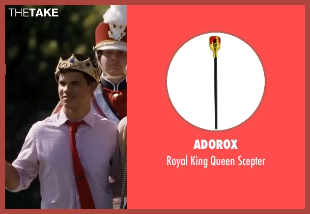 Adorox scepter from Valentine's Day seen with Taylor Lautner (Willy)