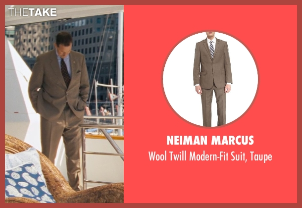 Neiman Marcus brown taupe from The Wolf of Wall Street seen with Ted Griffin (III) (Agent Hughes)