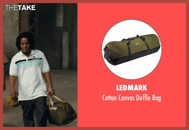 Ledmark green bag from Fast Five seen with Tego Calderon (Leo)