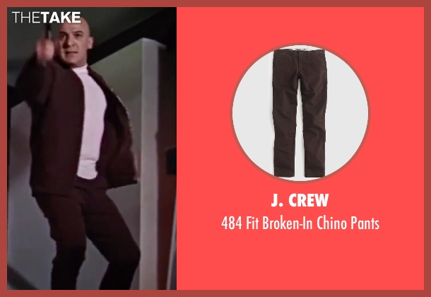 J. Crew brown pants from On Her Majesty's Secret Service seen with Telly Savalas (Blofeld)