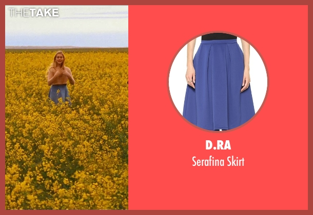 D.Ra blue skirt from Cut Bank seen with Teresa Palmer (Cassandra)