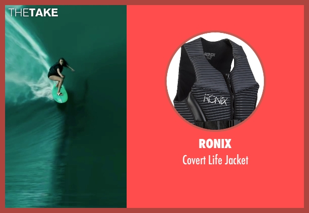 Ronix jacket from Point Break seen with Teresa Palmer (Samsara)