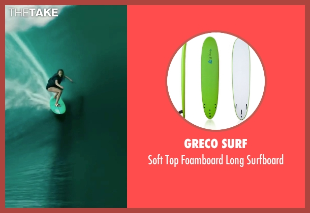 Greco Surf surfboard from Point Break seen with Teresa Palmer (Samsara)